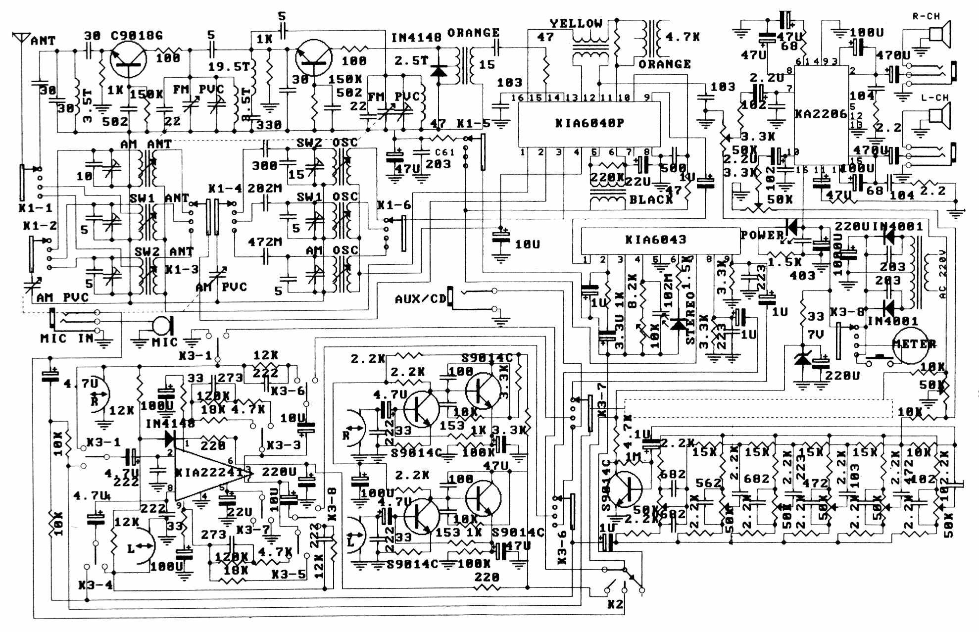 Unitra G 602 Инструкция